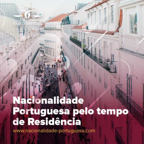 Cidadania Portuguesa pelo Tempo de Residência