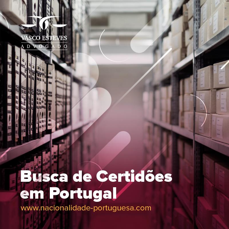 Busca de Certidões em Portugal: encontre a certidão de nascimento e/ou a certidão de batismo