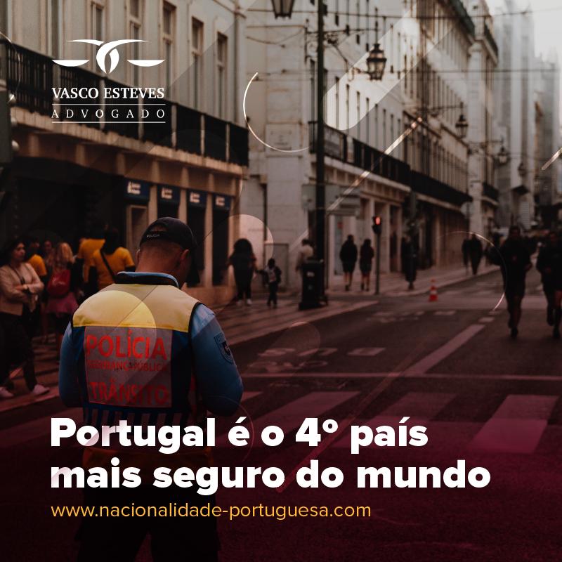 Portugal: um dos países mais seguros do mundo